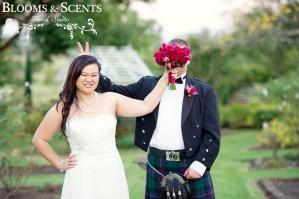 Blooms & Scents wedding flowers sydney